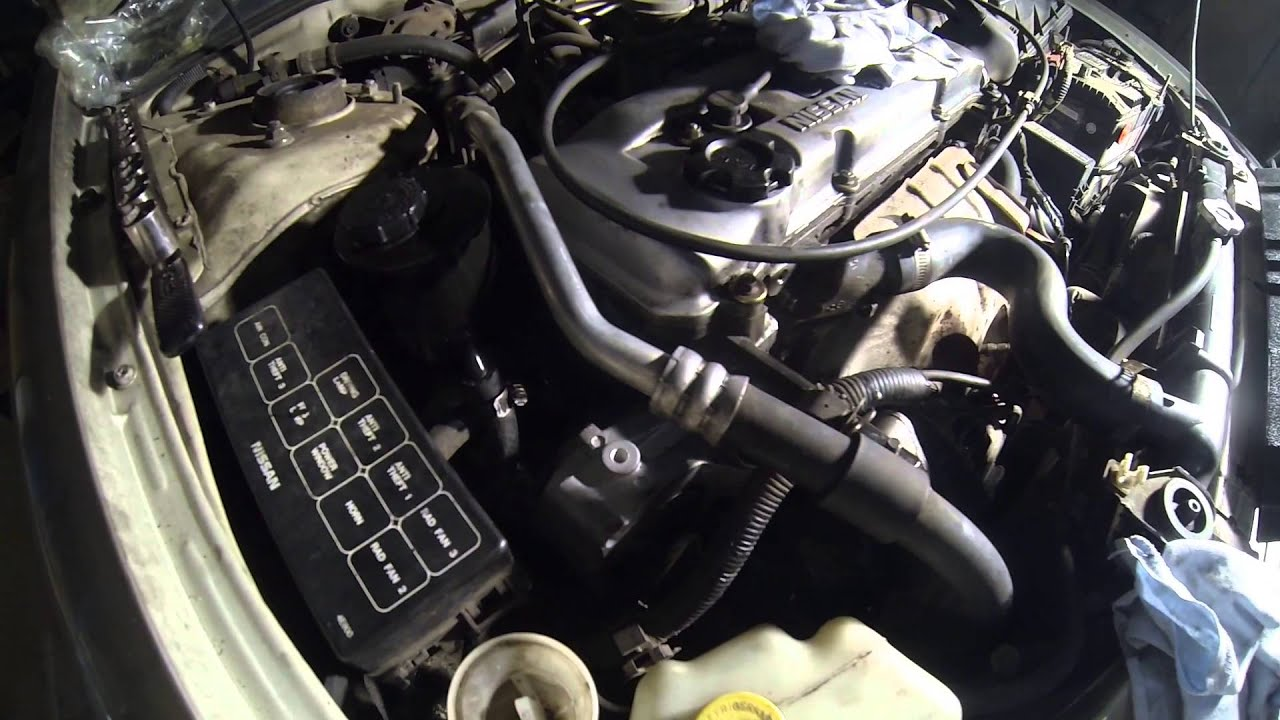 1996 Nissan Altima Right Front Motor Mount Replacement - YouTubeYouTube