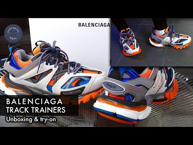 Balenciaga LED Trainers Track Lighted Sole Sneakers