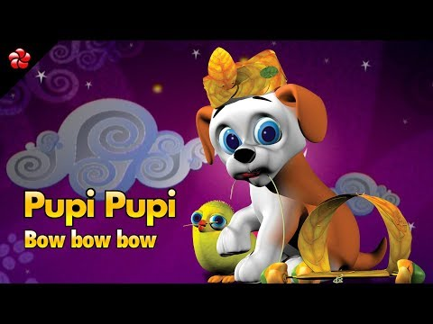 PUPI PUPI BOW BOW BOW ♥Superhit pupy song in HD ★Pupy malayalam educational cartoon for children
