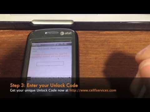 How to Unlock the HTC TyTN 2 (AT&T Tilt, HTC Kaiser, HTC 8925) by Unlock Code