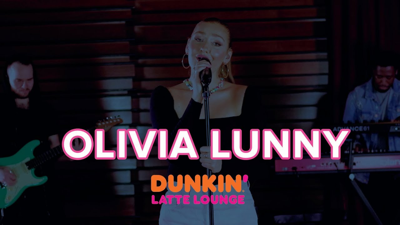 Olivia Lunny Performs At The Dunkin Latte Lounge