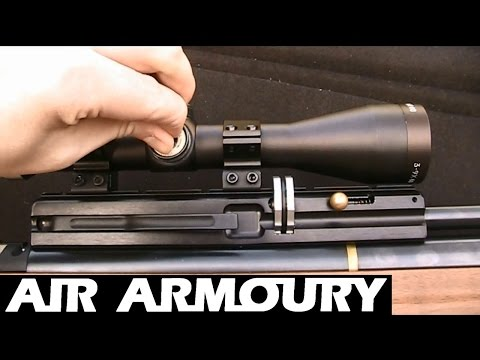 How To Zero An Air Rifle Scope  Air Armoury