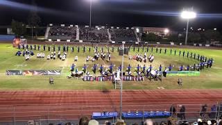 California HS Condor Entertainment Unit - Gahr High School Field Show Tournament on 10/13/18