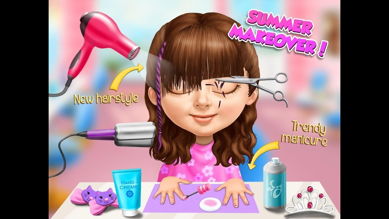 Sweet Baby Girl Summer Fun Videos games for Kids - Girls ...