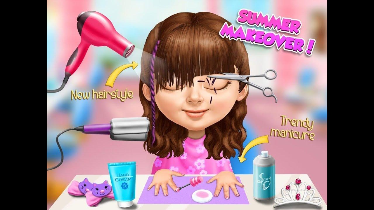 Sweet Baby Girl Summer Fun Videos Games For Kids Girls