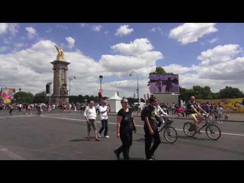 PARIS OLYMPIQUE 2024. Paris/France - 24 juin 2017