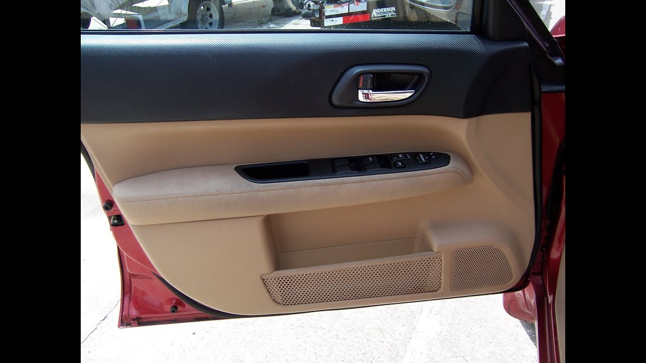 subaru forester speaker removal front speaker [ 1280 x 720 Pixel ]