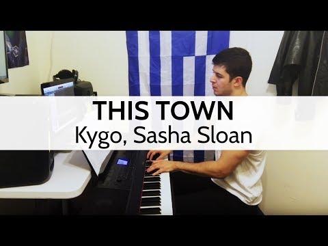 This Town - Kygo, Sasha Sloan Piano Cover by Niko Kotoulas