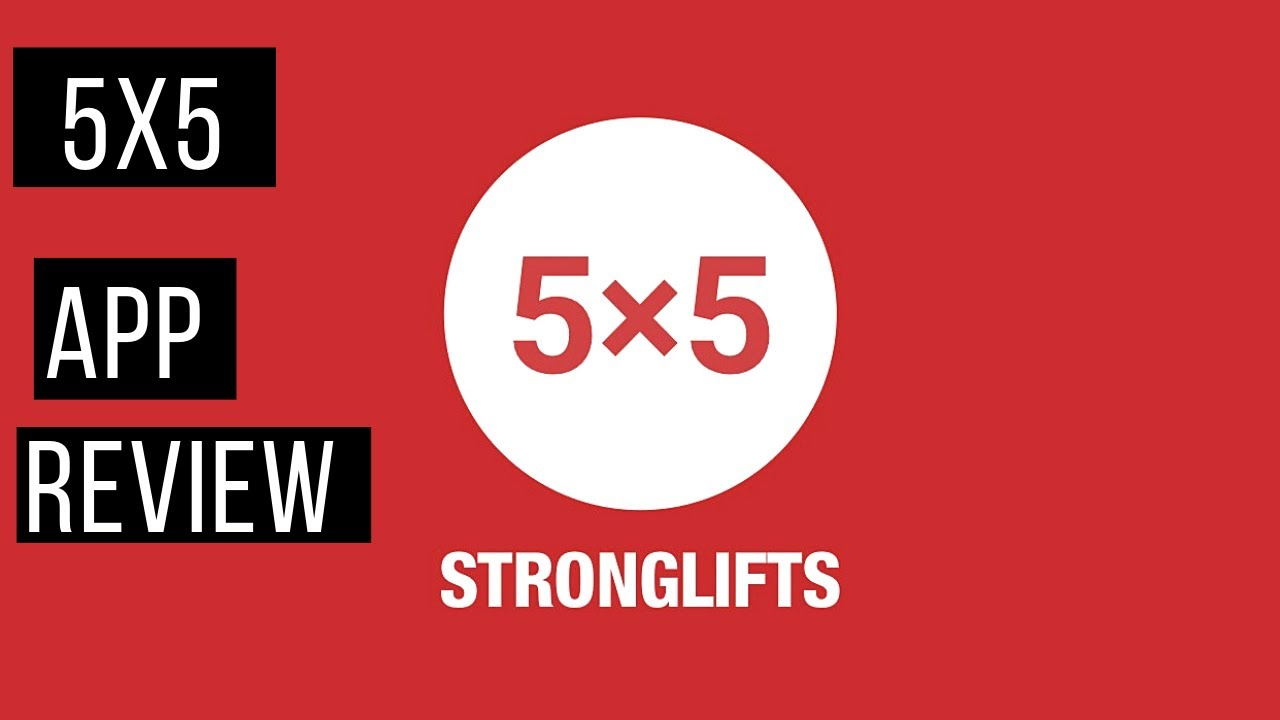 Stronglifts 5x5 App Workout Review!