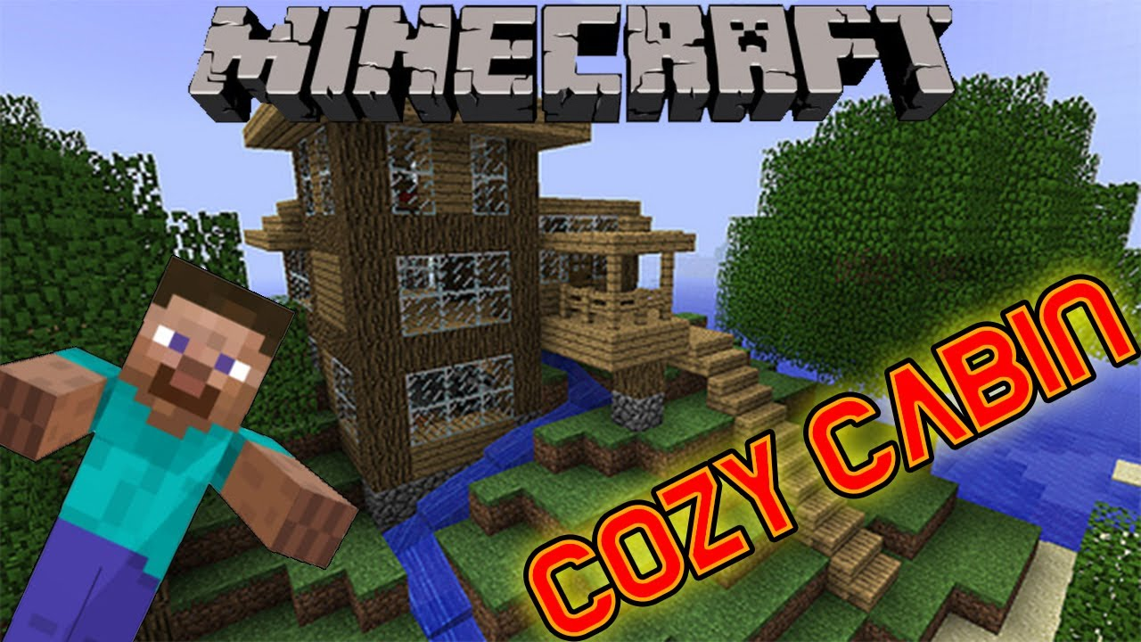 Minecraft Cozy Cabin Design Download YouTube
