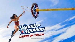 Wonder Woman World's Tallest Pendulum Ride Six Flags Great Adventure 2019