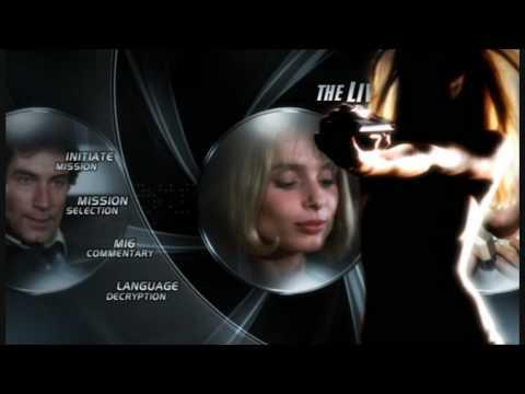 James Bond Ultimate DVD Menus - The Living Daylights