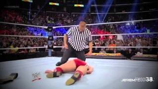 WWE Summerslam 2013 - Randy Orton cashes in Money in the Bank Contract