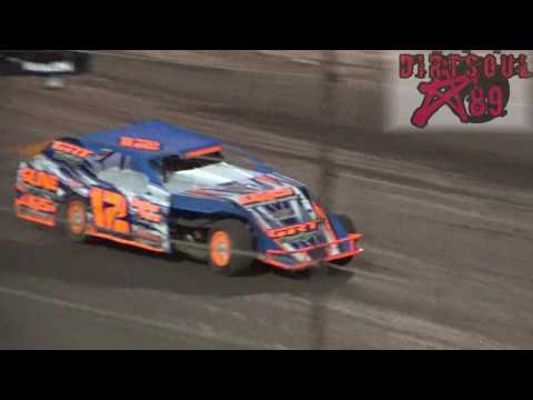 Salina Speedway 4-14- 17 Sport Mod Heat Races