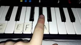 Bongo Cat LET'S GO piano tutorial