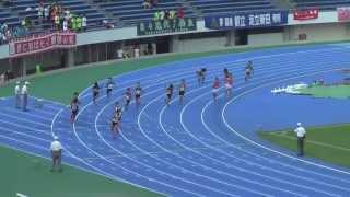 2013年度 成城高等学校 陸上競技部 都新人大会 男子4×100mリレー予選