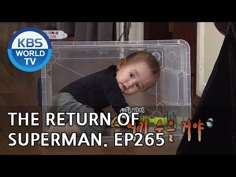 The Return of Superman | 슈퍼맨이 돌아왔다 - Ep.265: A Noisy but Happy Day[ENG/2019.02.24]