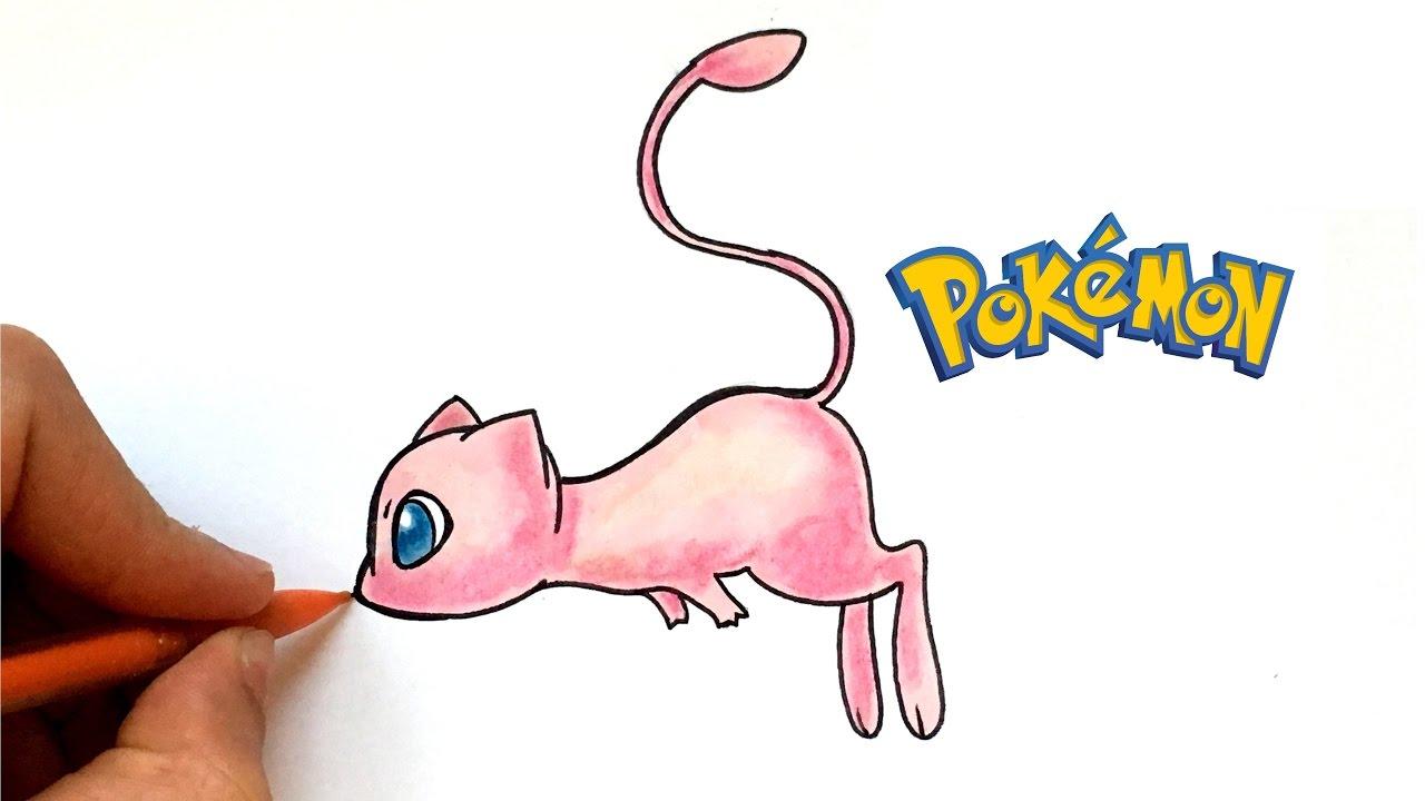 How To Draw Mew Pokémon