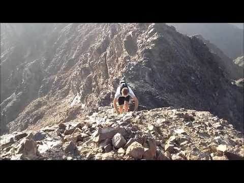 Dubai, United Arab Emirates, Skyrunning with Darryl Chiles, Sean James & Piers Constable