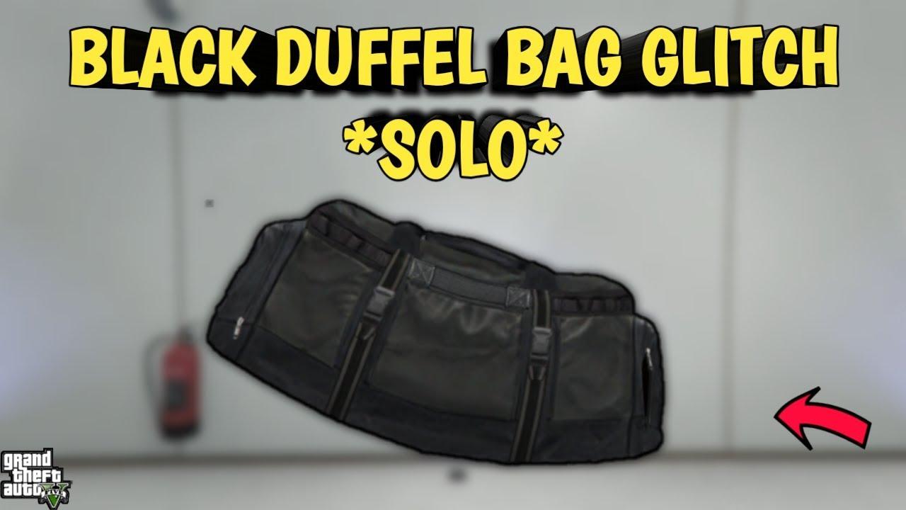 Download BLACK DUFFEL BAG GLITCH *SOLO* - GTA 5 ONLINE (ANY OUTFIT GLITCH)