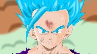 Gohan turns Super saiyan blue