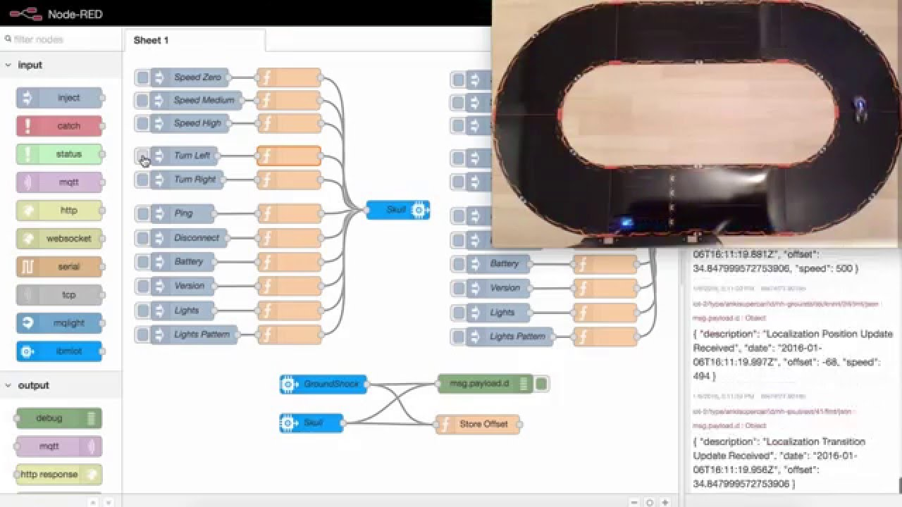 Collision Prevention for Anki Overdrive Cars with Bluemix
