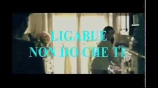 LIGABUE NON HO CHE TE STRUMENTALE VIDEO KARAOKE MADE VASKO DEL SUD DEMO