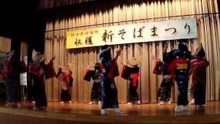 「新そばまつり」③西馬音内盆踊り「音頭」二回目