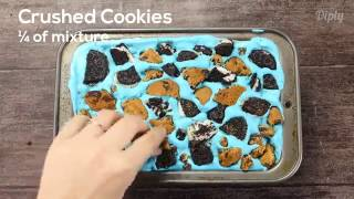 Cookie Monster Ice Cream (nomnomnomnom)