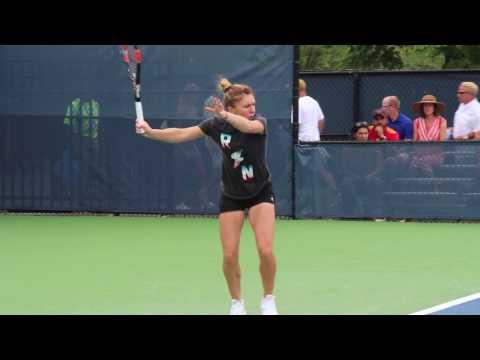 Simona Halep Slow Motion Forehand