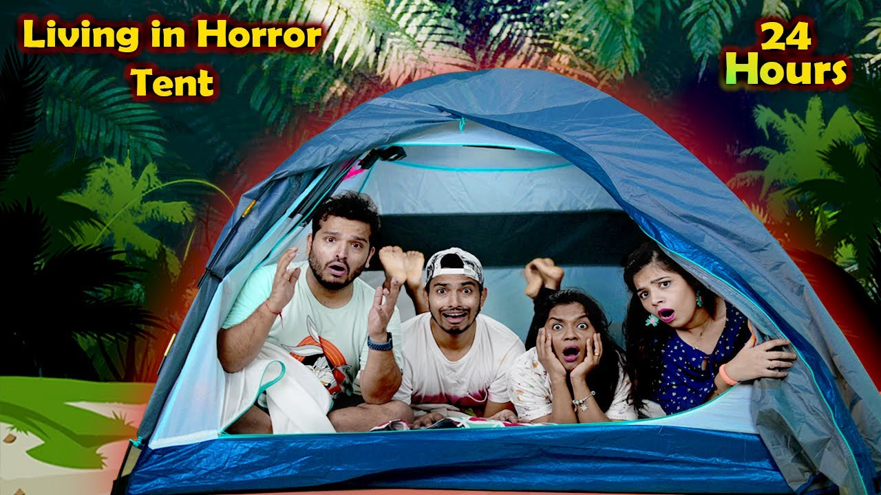 Download Living In a SCARY Tent For 24 Hours | Hungry Birds
