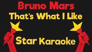 Bruno Mars - That's What I Like (Karaoke Instrumental)