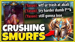 I Made a Yasuo One-Trick 0/5 in 5 Minutes...Riot BANNED him after this! ROAD TO RANK 1! Ep. #1