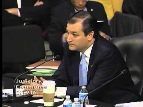 Sen. Ted Cruz Opening Statement in Judiciary Committee Markup on Immigration Legislation