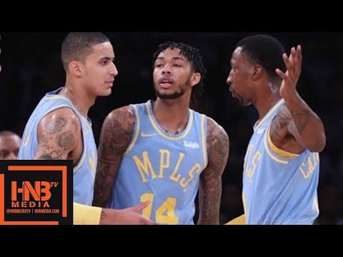 Los Angeles Lakers vs Philadelphia 76ers 1st Half Highlights / Week 5 / 2017 NBA Season