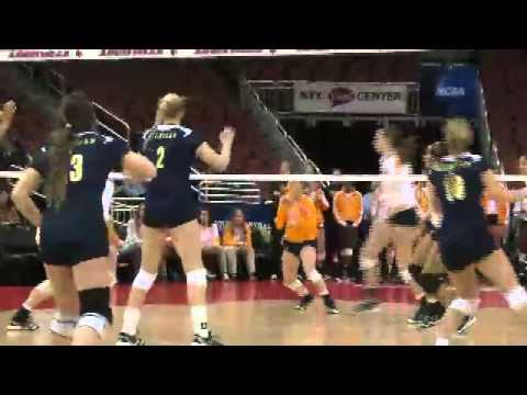 Volleyball Puts Away Lady Vols in Five to Reach NCAA ...