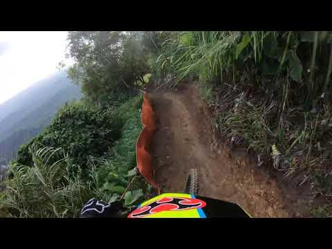 First run di track Downhill SEAGAMES 2019 Tagaytay Filipina