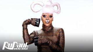 Ra'Jah O'Hara's 'Capricorn' Makeup Tutorial 💄 | RuPaul's Drag Race Season 11