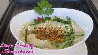 Chicken Porridge | Chao Ga | Chicken Rice Soup Congee