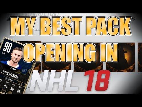 CRAZY PACK LUCK - Huge NHL 18 Pack Opening (TOTW Sets)