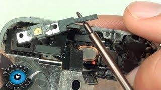 iPhone 4 Power Button Annäherungssensor Hörmuschel Umgebungsmicrofon Wechseln Reparieren Teil 2