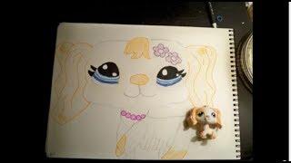 How Draw Lps Er Spaniel