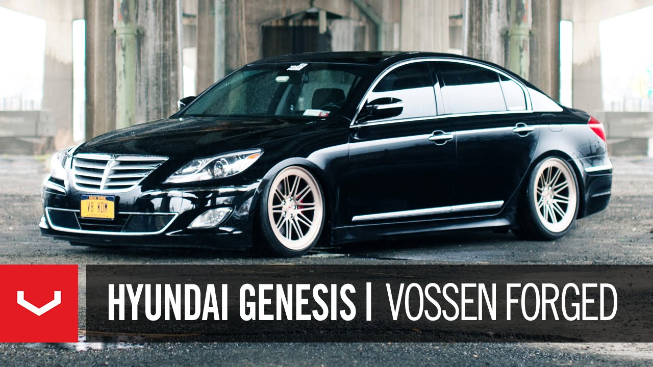 Hyundai Genesis R Spec Wayne S World Vossen Forged Lc 107