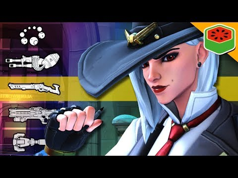 ASHE GUN GAME! | Overwatch (Custom Game) thumbnail