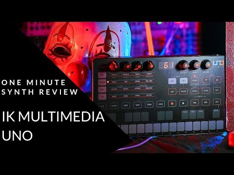 ONE MINUTE SYNTH REVIEW!!! Ep. 18 IK Multimedia UNO (Halloween Special) Mp3