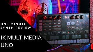 ONE MINUTE SYNTH REVIEW!!! Ep. 18 IK Multimedia UNO (Halloween Special)