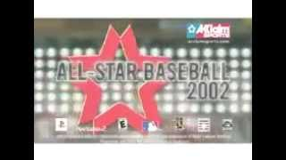All Star Baseball 2002 (Playstation 2) - Retro Video Game Commercial