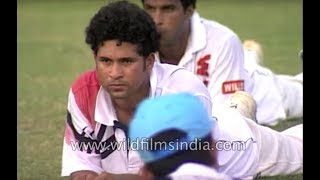Indian selectors named Sachin Tendulkar as Indian cricket captain - archival footage