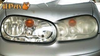 DIY: Polishing Foggy Headlights