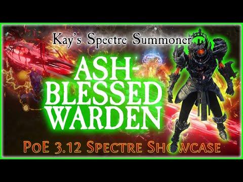 PoE 3.12 - Ashblessed Warden Spectre Showcase | Heist Spectre